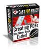 Thumbnail Easy PDF maker make more money