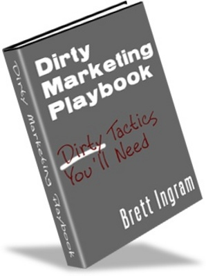 Product picture Dirty Marketing Playbook - make more money from website
